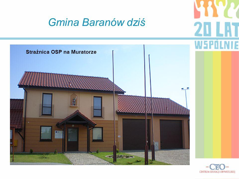 Gmina Baranów dziś Budynek Urzędu Gminy w Baranowie