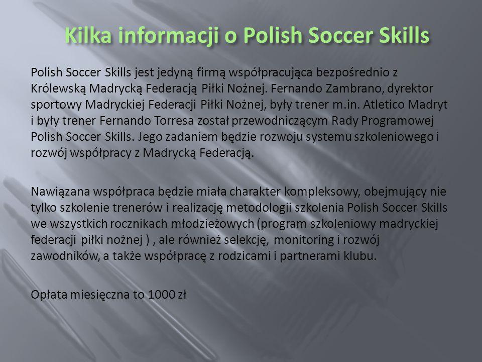 Kilka informacji o Polish Soccer Skills