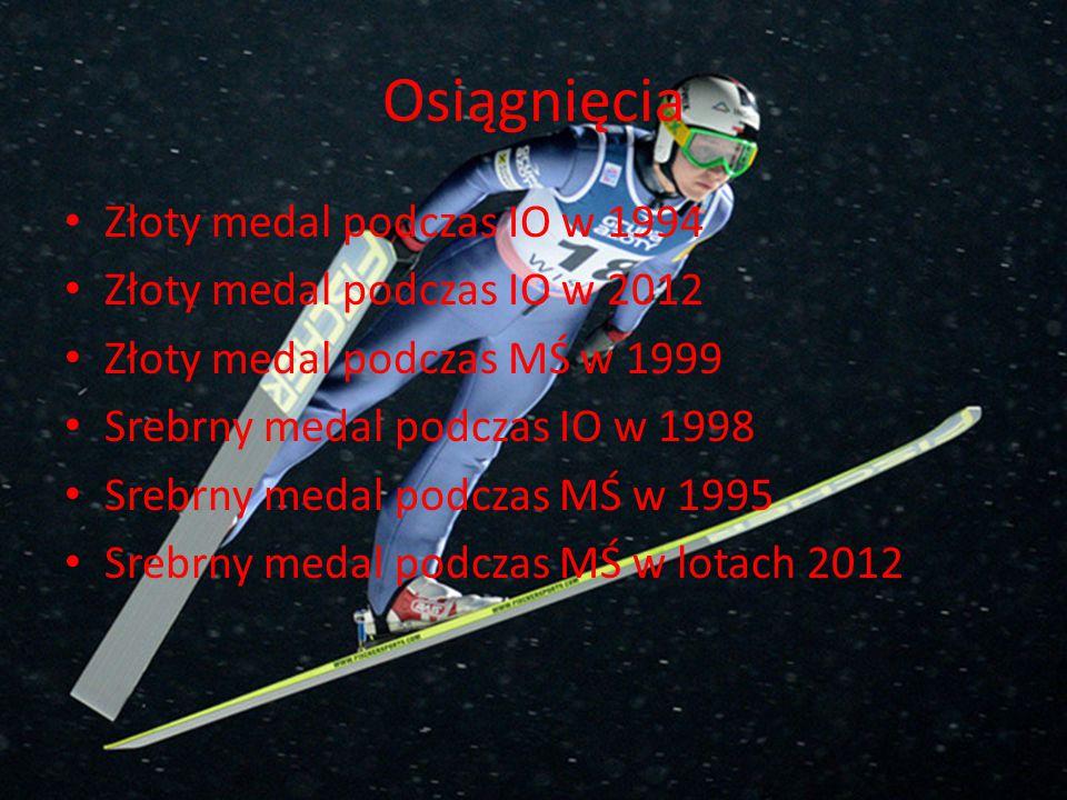 Osiągnięcia Złoty medal podczas IO w 1994