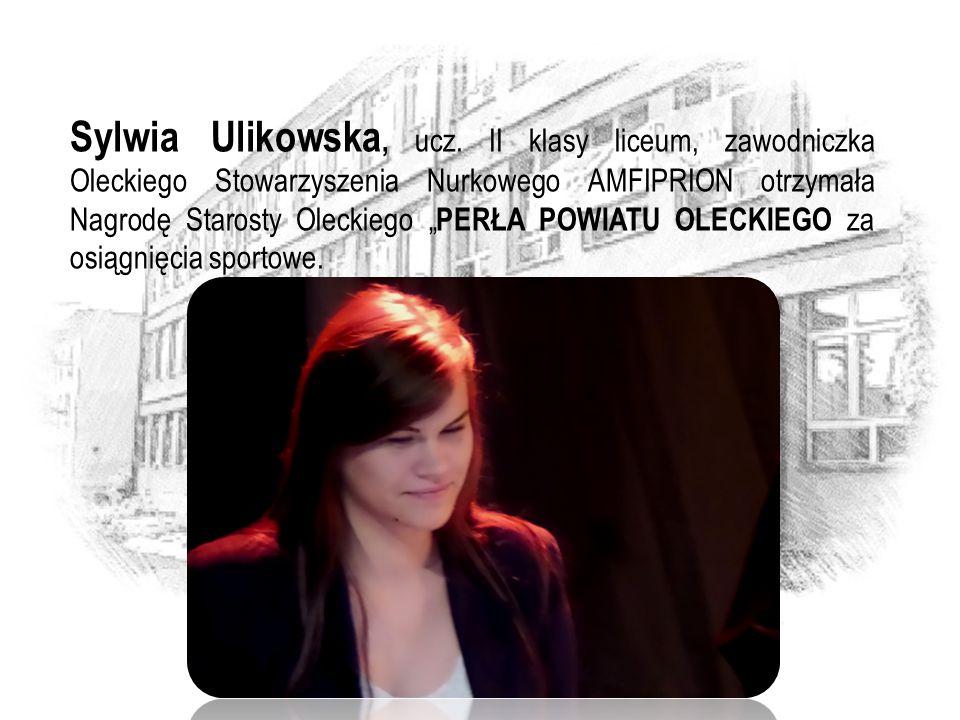 Sylwia Ulikowska, ucz.