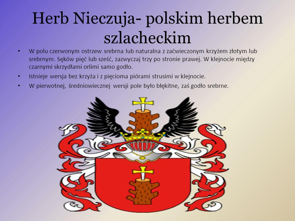Herb Nieczuja- polskim herbem szlacheckim