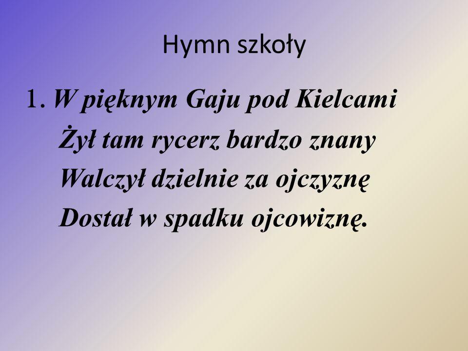Hymn szkoły 1.