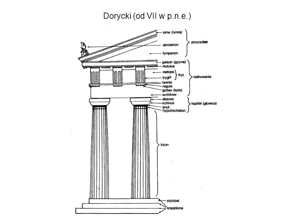 Dorycki (od VII w p.n.e.)
