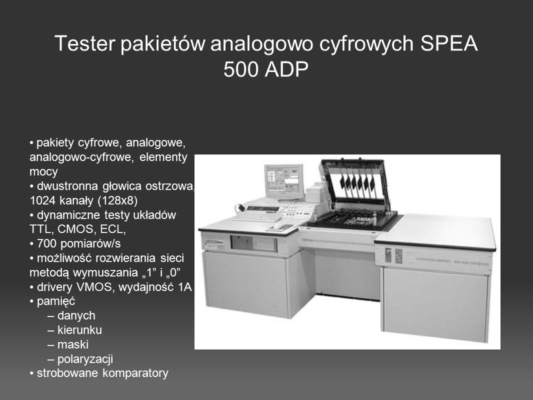 Tester pakietów analogowo cyfrowych SPEA 500 ADP