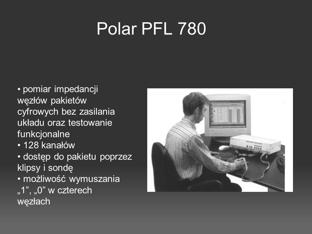 Polar PFL 780 • pomiar impedancji węzłów pakietów