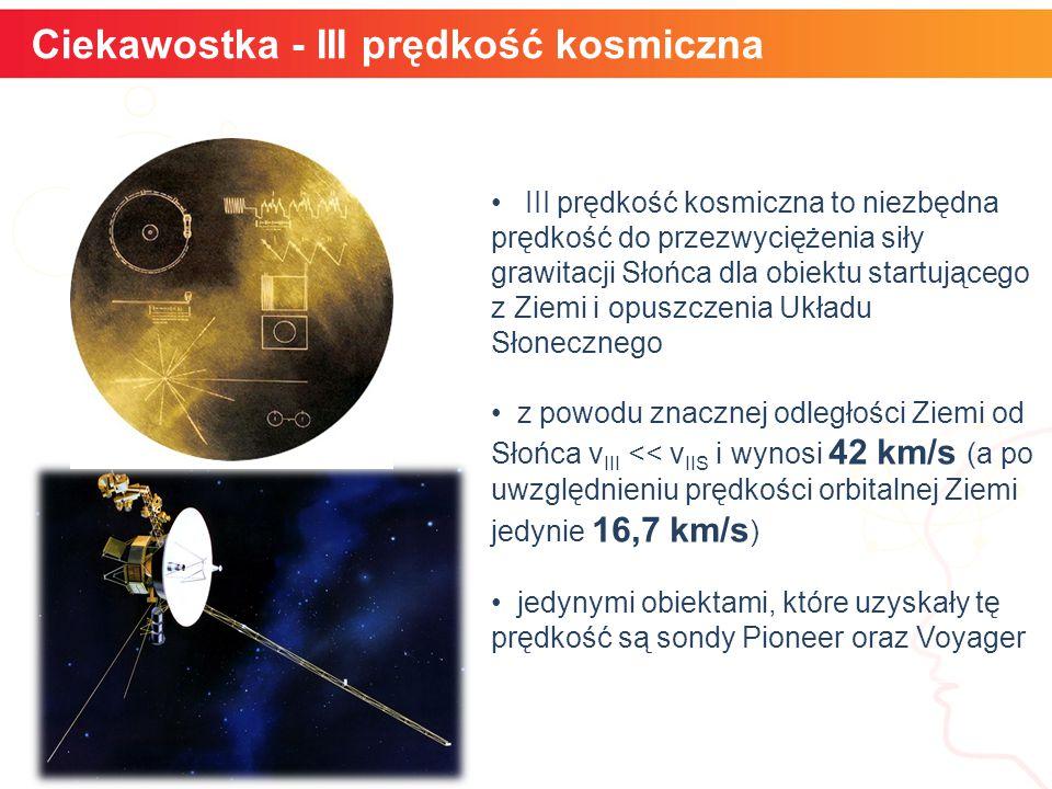 Ciekawostka - III prędkość kosmiczna