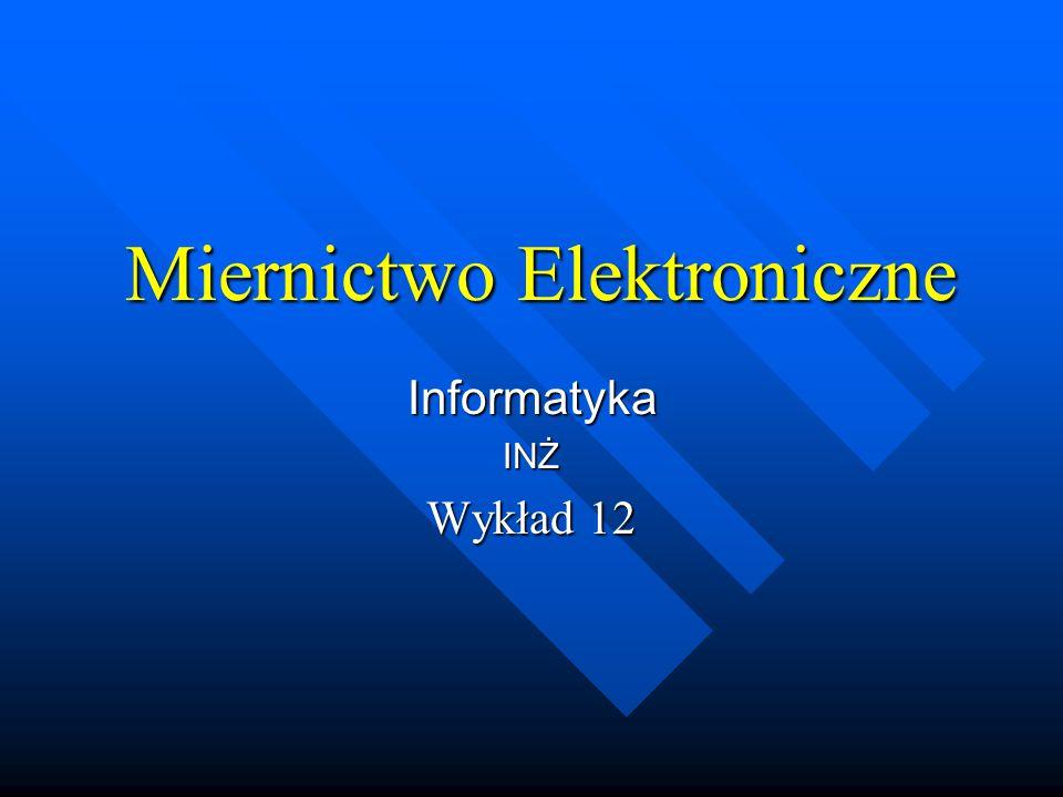 Miernictwo Elektroniczne