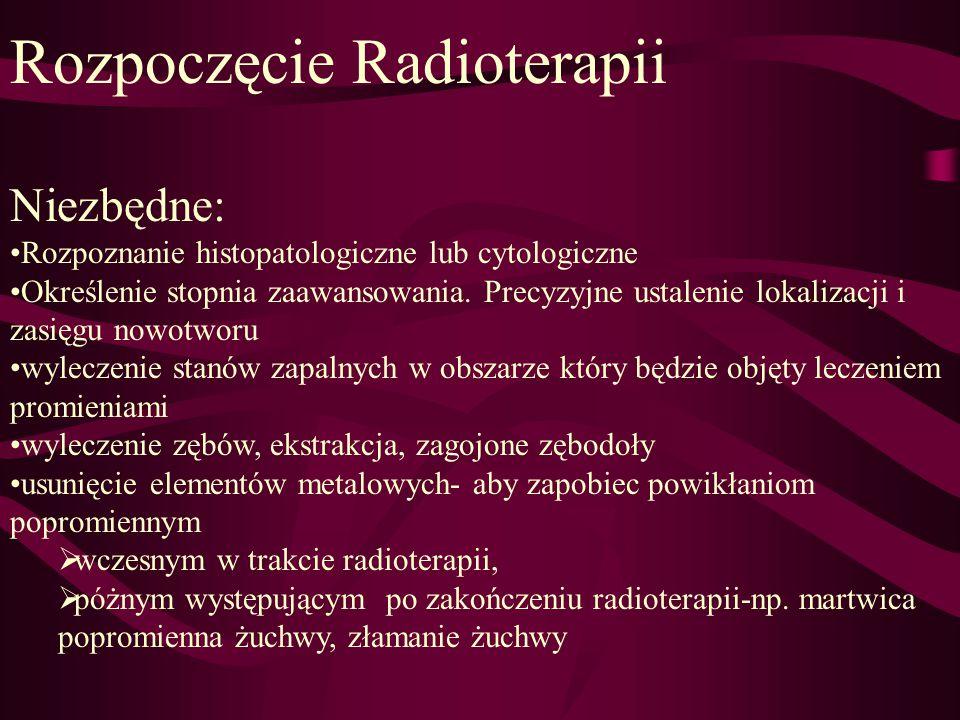 Rozpoczęcie Radioterapii