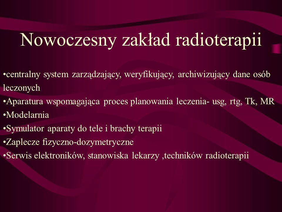 Nowoczesny zakład radioterapii
