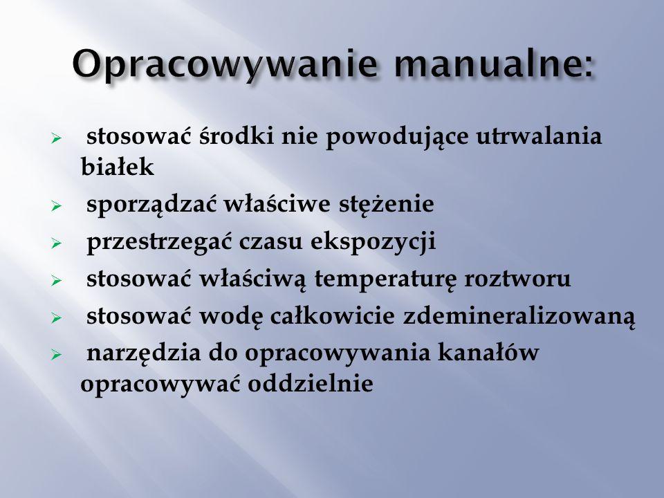 Opracowywanie manualne: