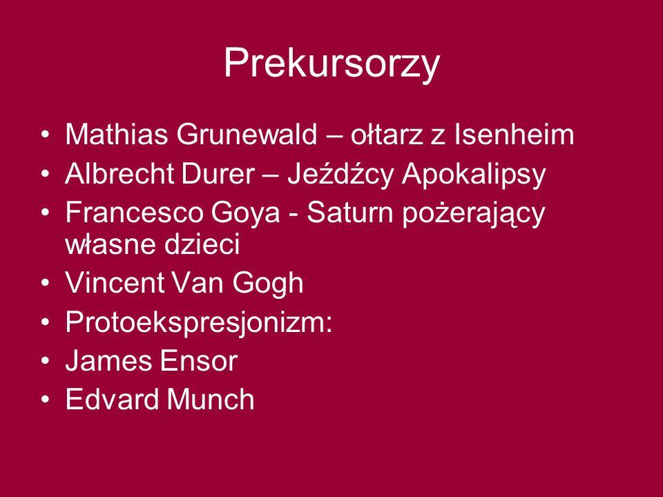 Prekursorzy Mathias Grunewald – ołtarz z Isenheim