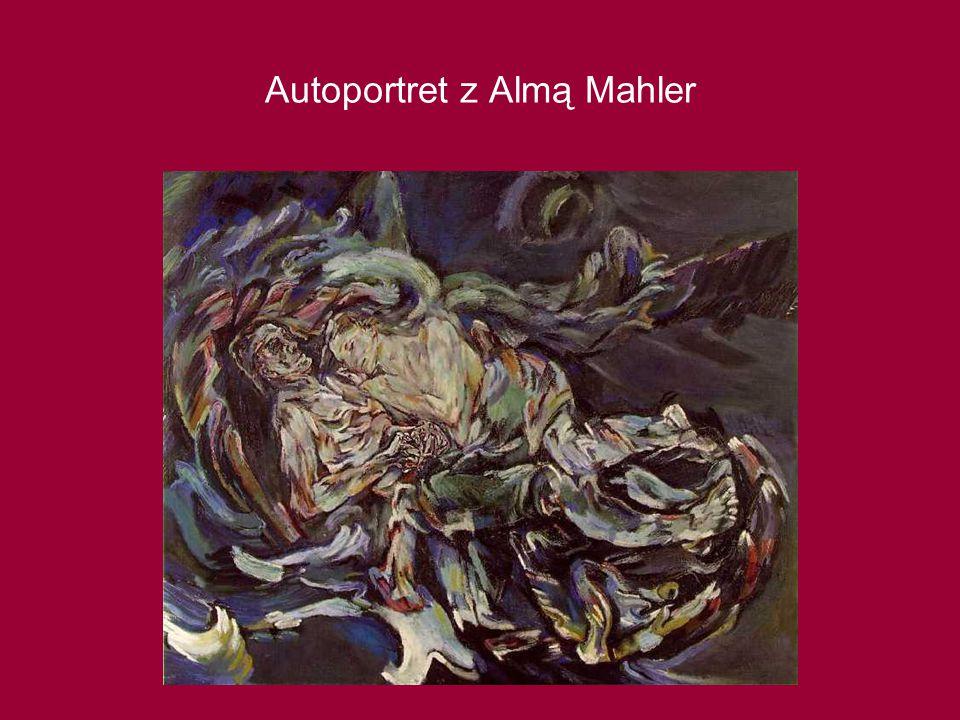 Autoportret z Almą Mahler