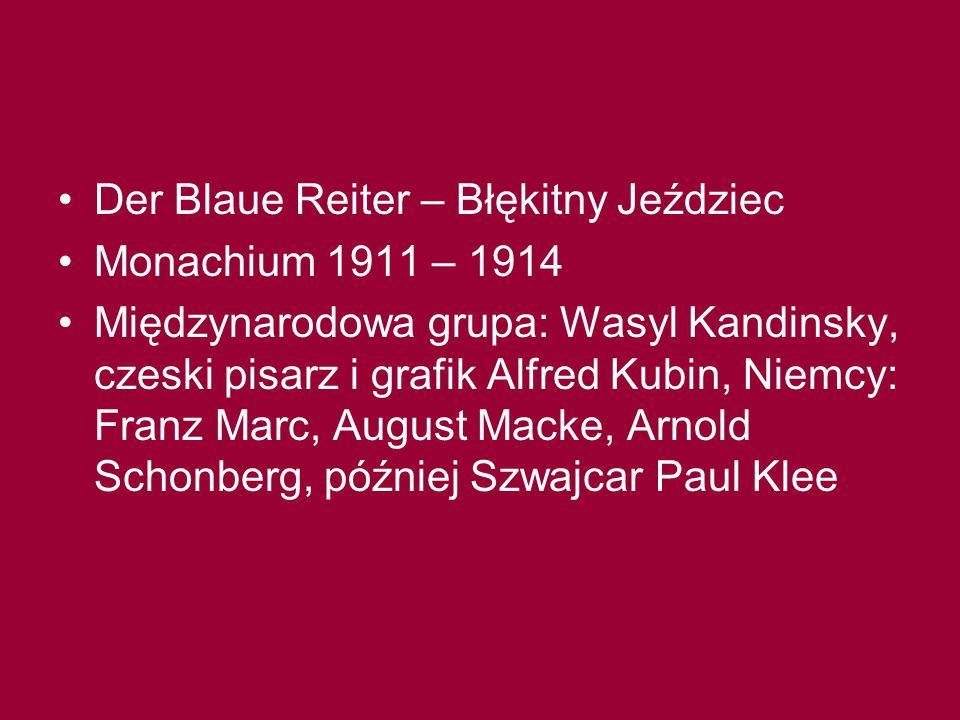 Der Blaue Reiter – Błękitny Jeździec
