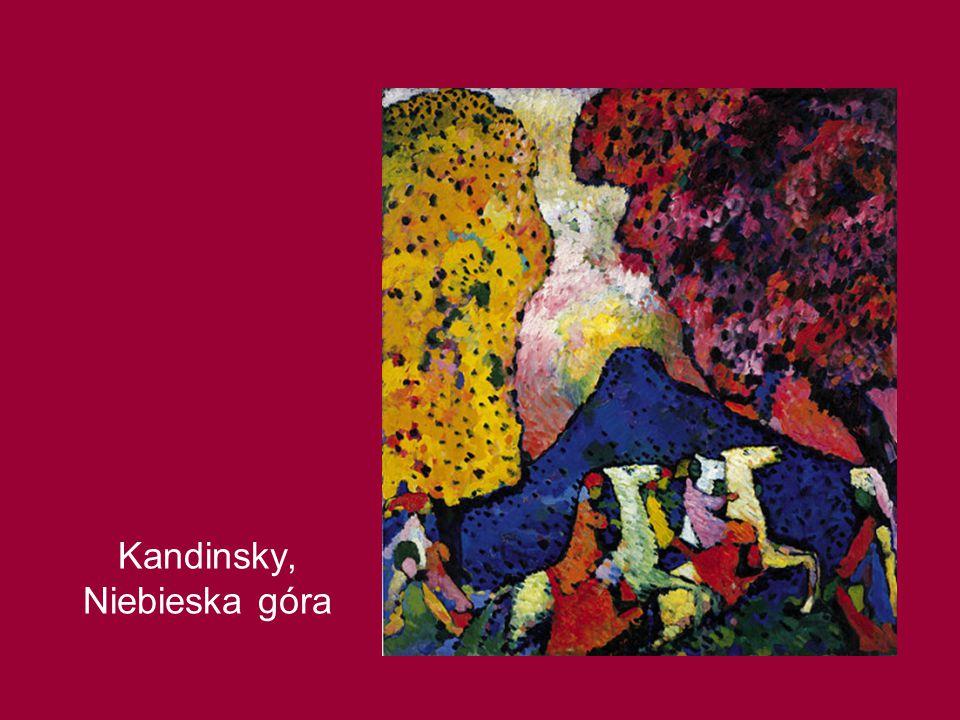 Kandinsky, Niebieska góra