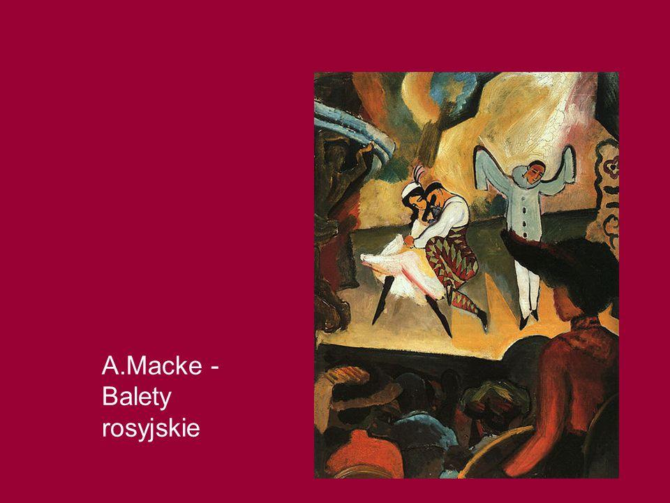 A.Macke -Balety rosyjskie