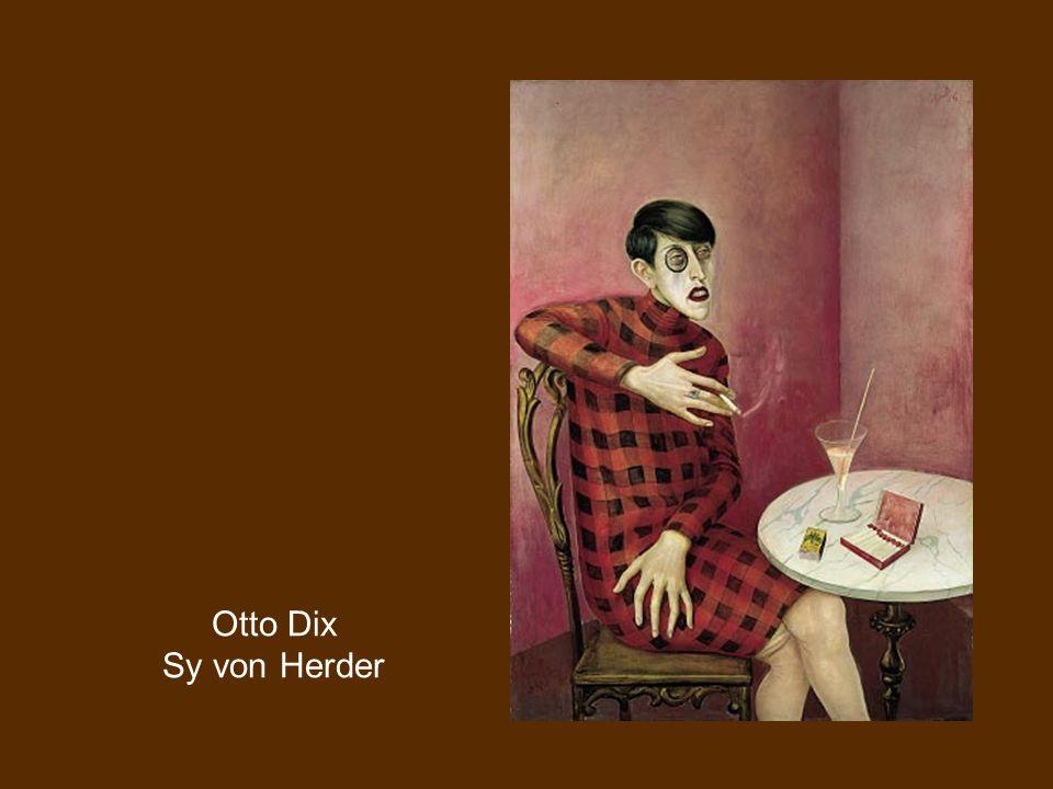 Otto Dix Sy von Herder