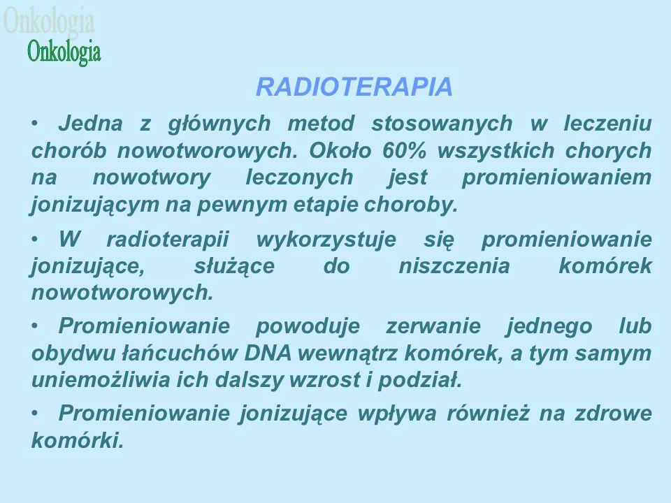 Onkologia RADIOTERAPIA