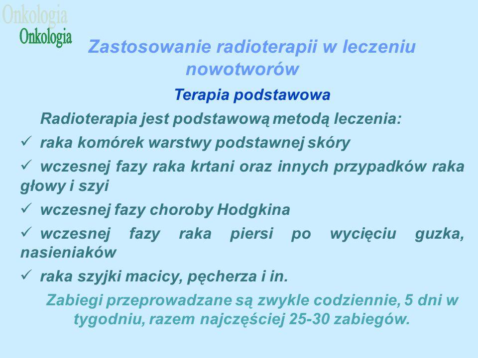 Zastosowanie radioterapii w leczeniu nowotworów