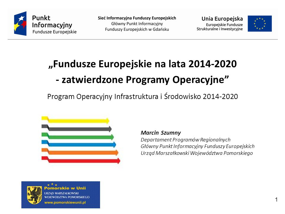 """Fundusze Europejskie na lata 2014-2020"