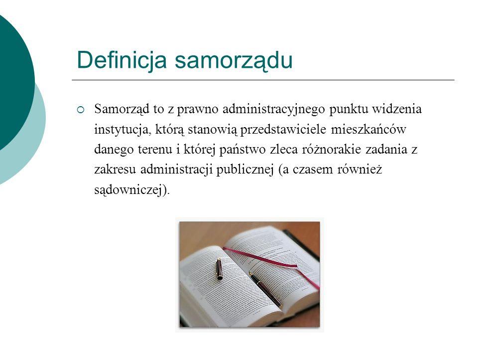 Definicja samorządu
