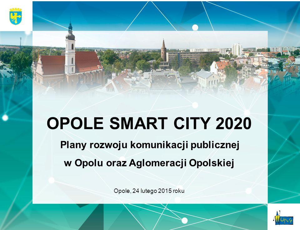 OPOLE SMART CITY 2020 w Opolu oraz Aglomeracji Opolskiej