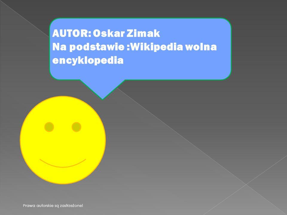 Na podstawie :Wikipedia wolna encyklopedia