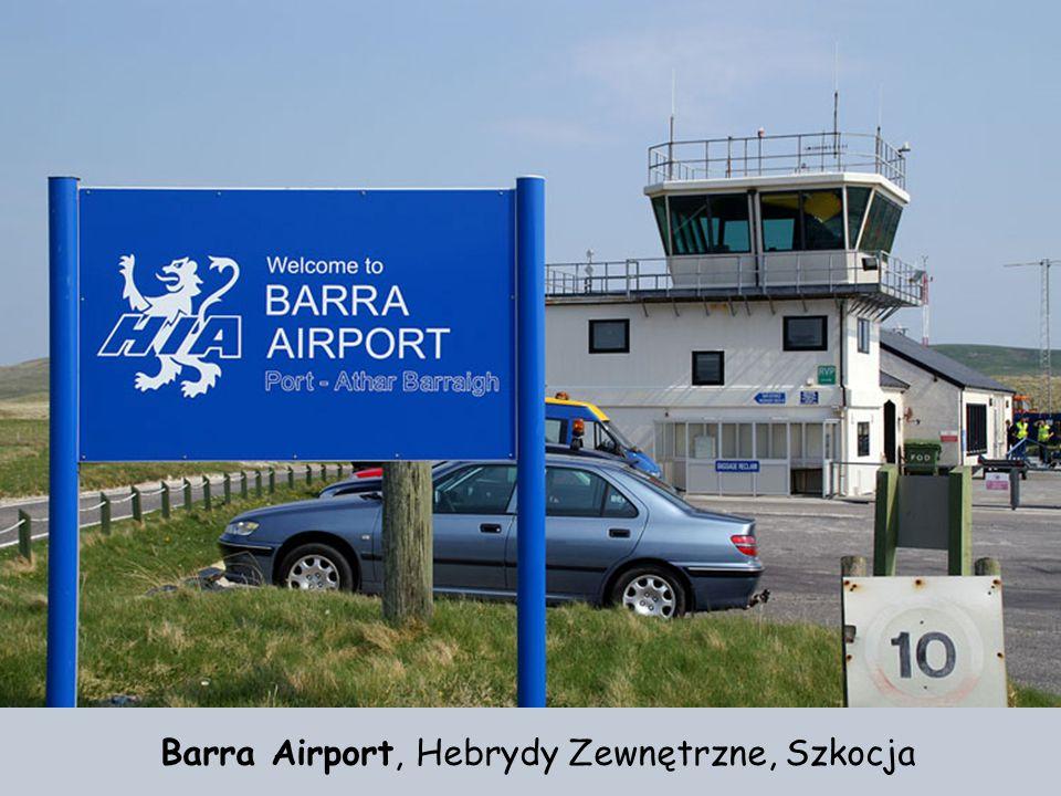 Barra Airport, Hebrydy Zewnętrzne, Szkocja