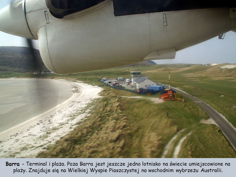Barra - Terminal i plaża