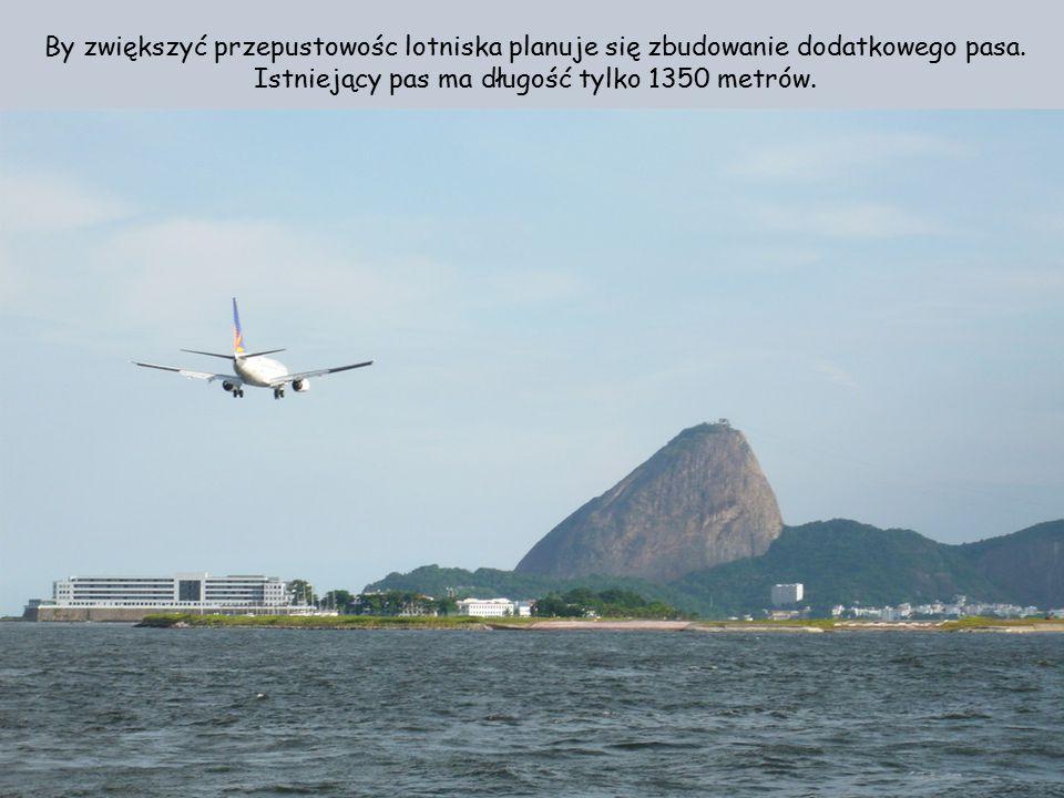 By zwiększyć przepustowośc lotniska planuje się zbudowanie dodatkowego pasa.