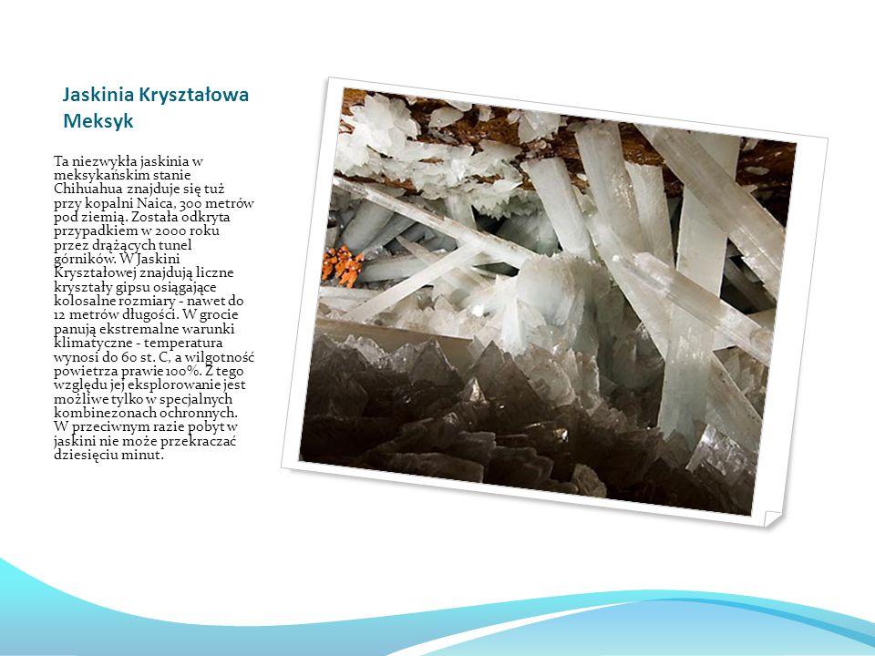 Jaskinia Kryształowa Meksyk