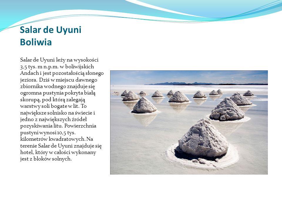 Salar de Uyuni Boliwia