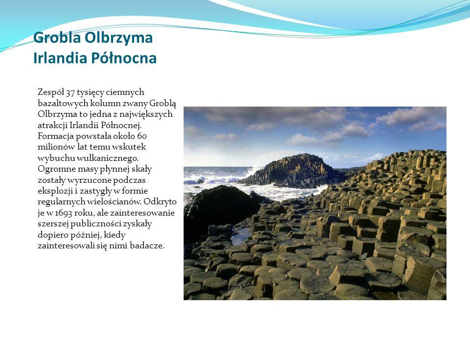Grobla Olbrzyma Irlandia Północna