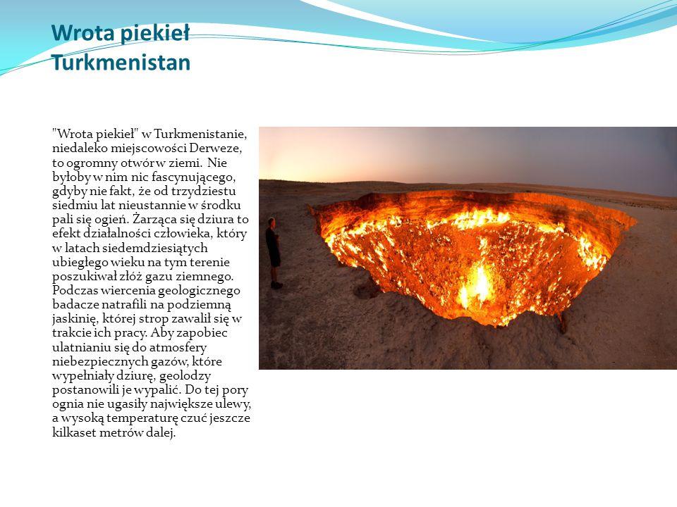 Wrota piekieł Turkmenistan