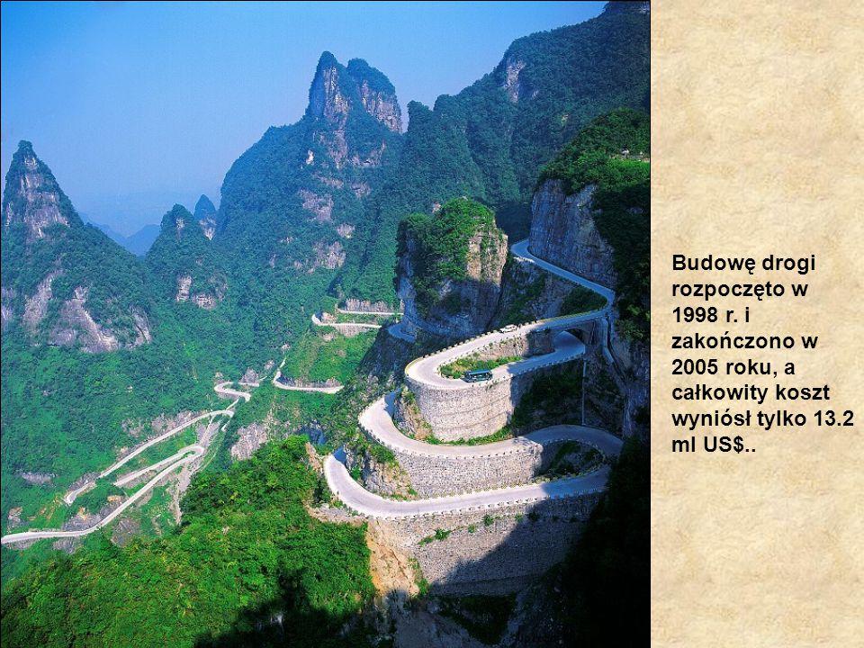 Budowę drogi rozpoczęto w 1998 r