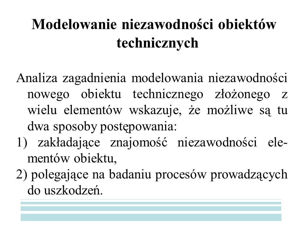 Modelowanie niezawodności obiektów technicznych