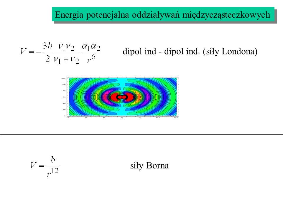 Energia potencjalna oddziaływań międzycząsteczkowych