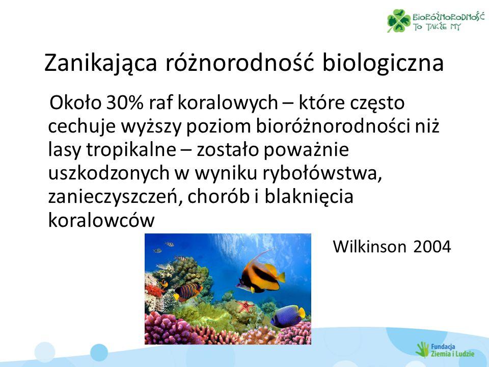 Zanikająca różnorodność biologiczna