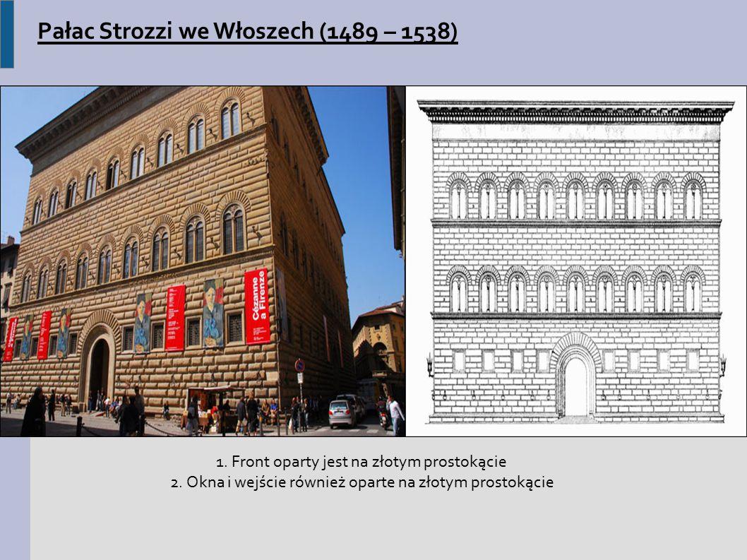 Pałac Strozzi we Włoszech (1489 – 1538)