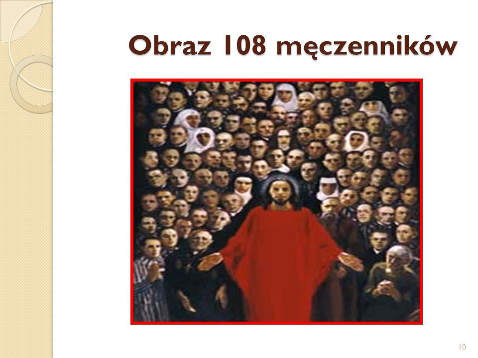 Obraz 108 męczenników