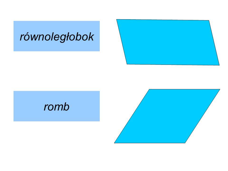 równoległobok romb