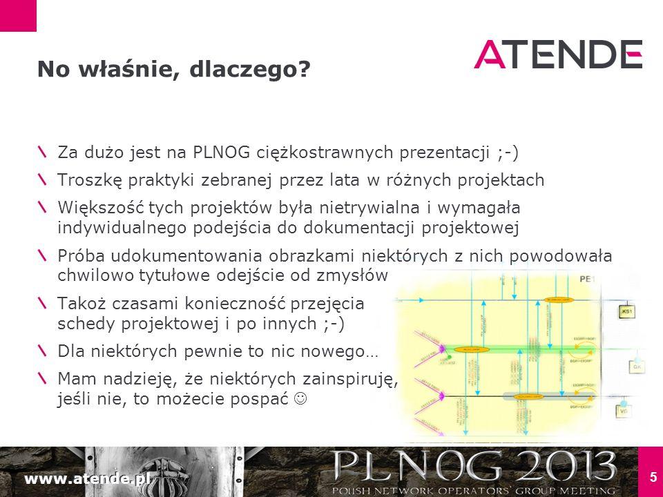 No właśnie, dlaczego Za dużo jest na PLNOG ciężkostrawnych prezentacji ;-) Troszkę praktyki zebranej przez lata w różnych projektach.