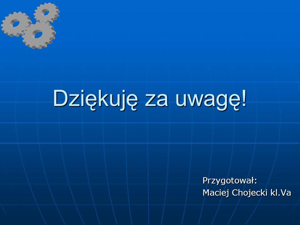 Przygotował: Maciej Chojecki kl.Va