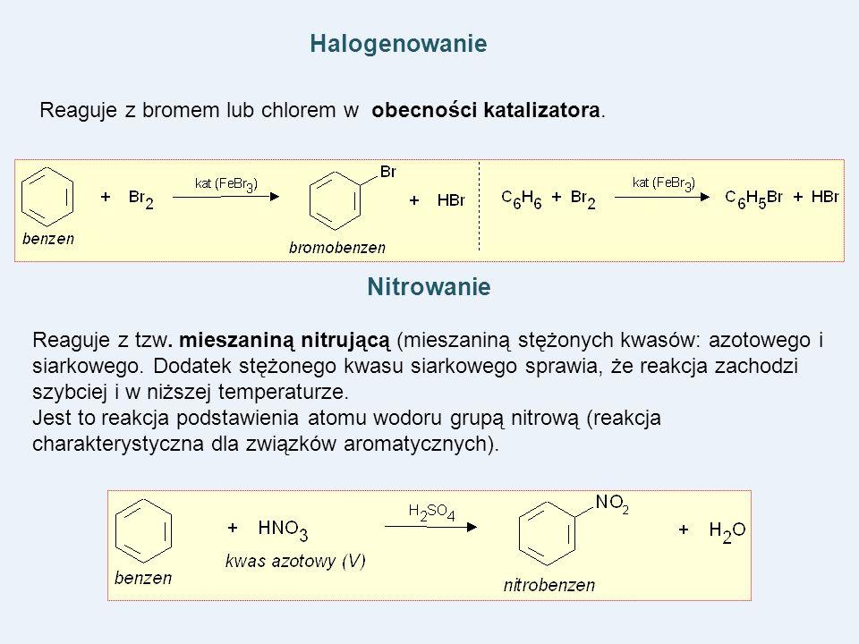 Halogenowanie Nitrowanie