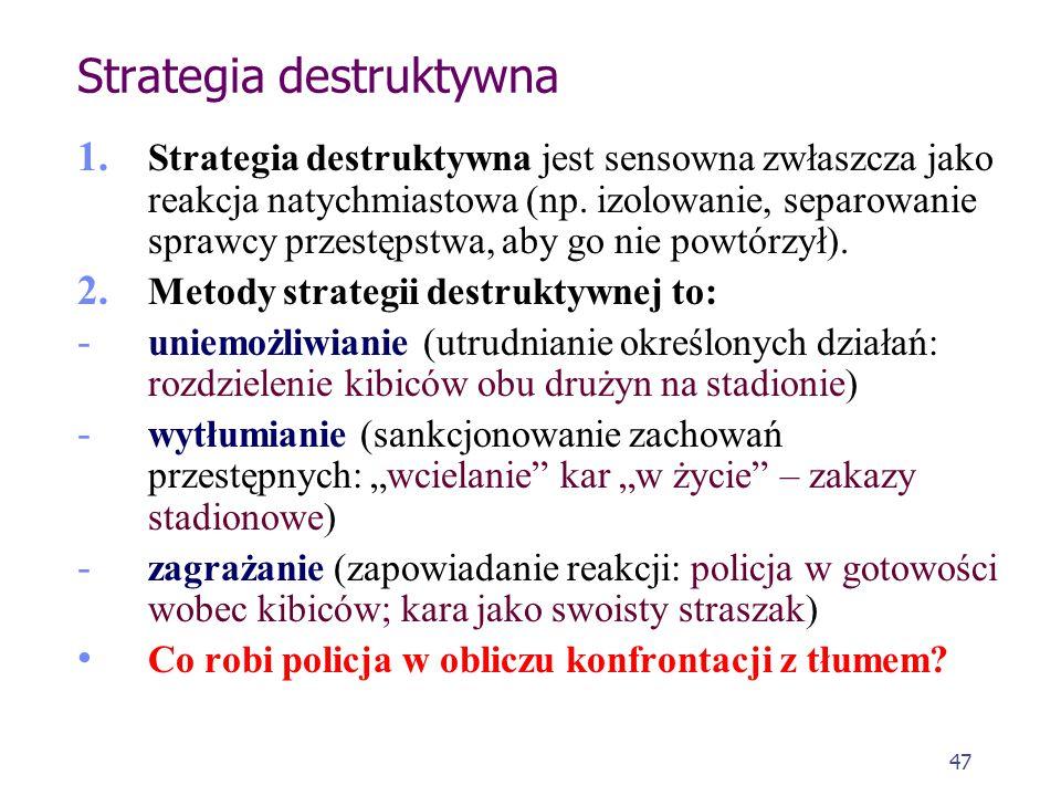 Strategia destruktywna
