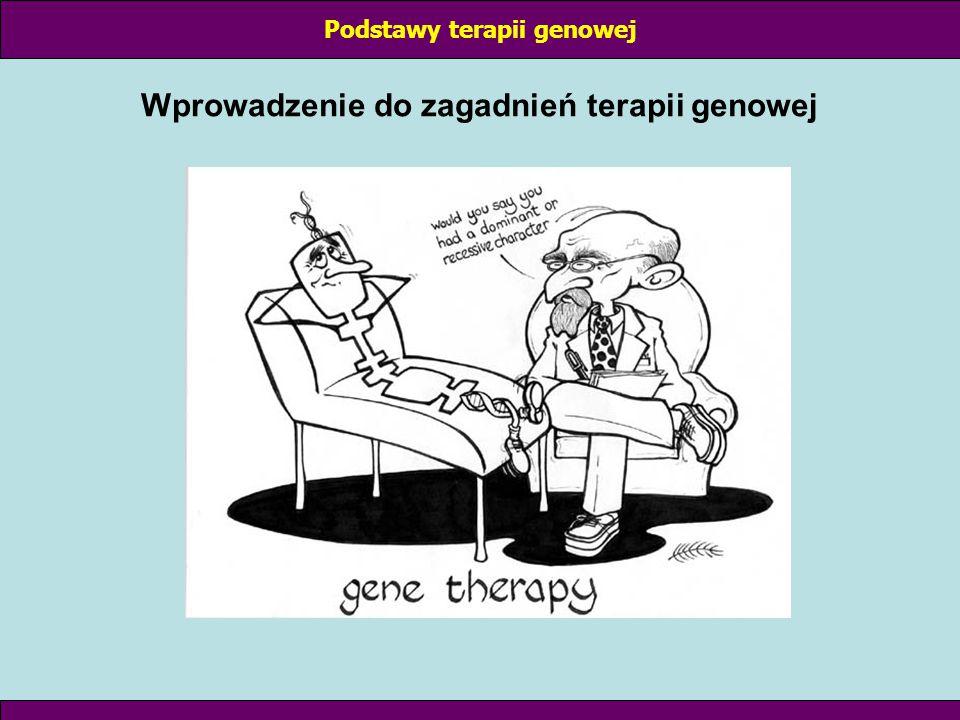 Podstawy terapii genowej