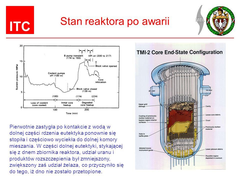 Stan reaktora po awarii