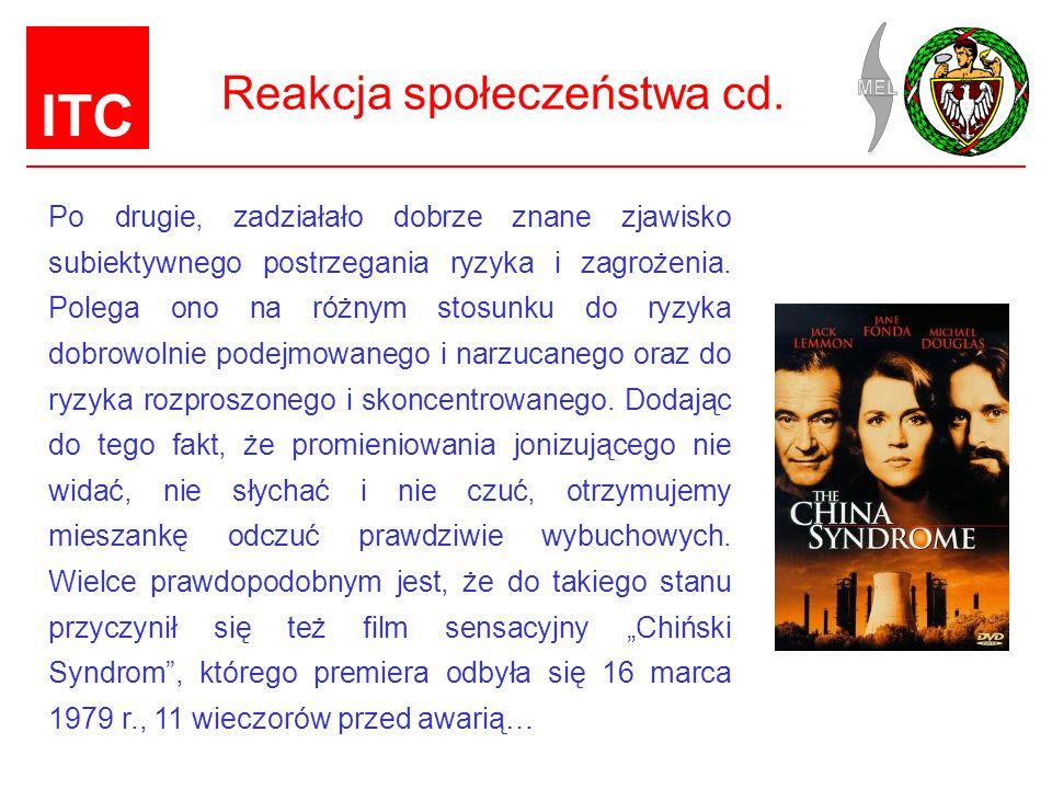 Reakcja społeczeństwa cd.