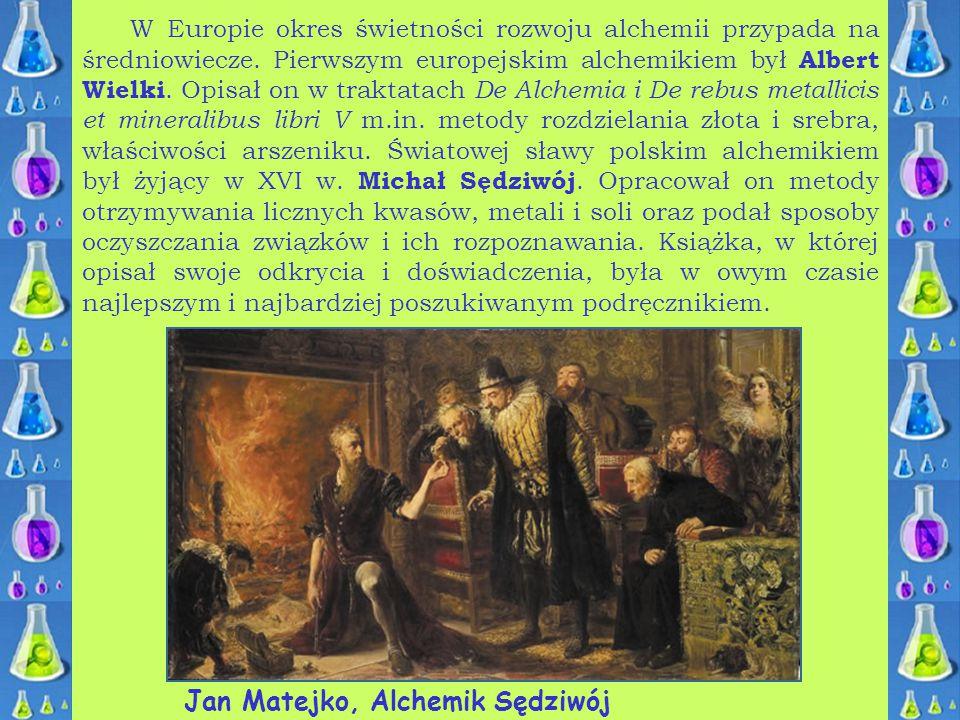 Jan Matejko, Alchemik Sędziwój