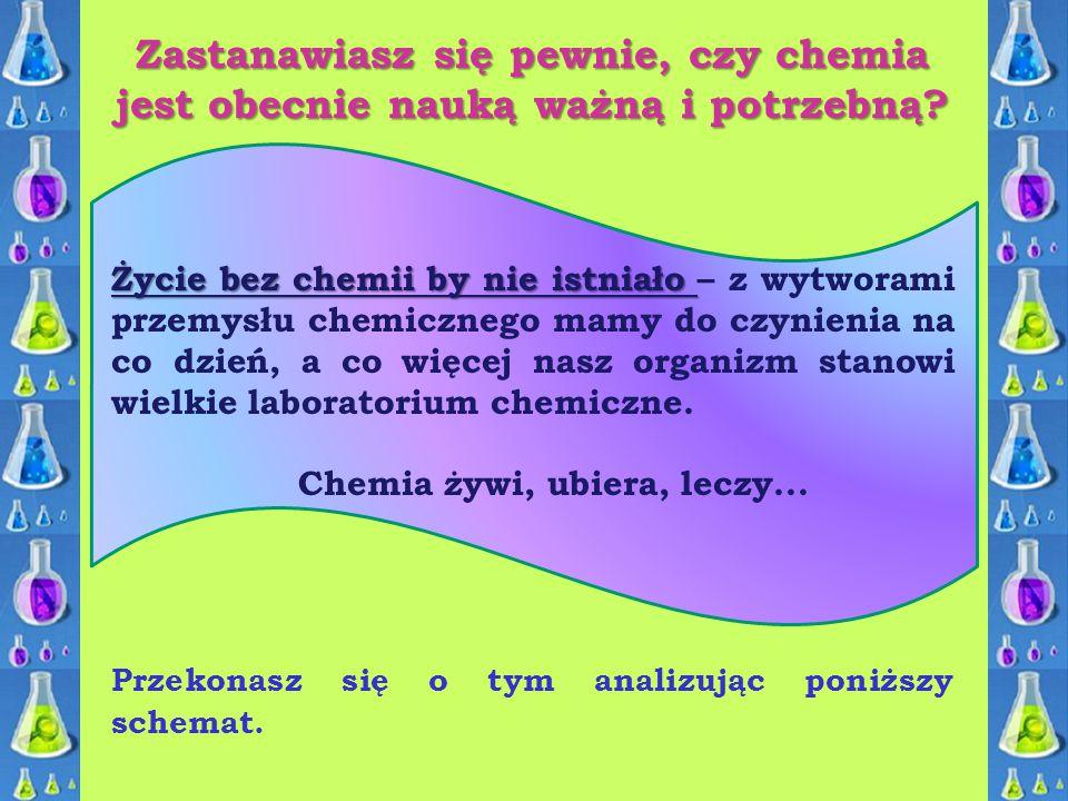 Zastanawiasz się pewnie, czy chemia jest obecnie nauką ważną i potrzebną