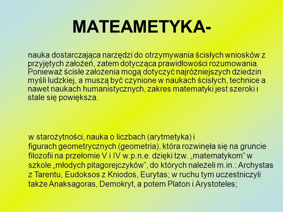 MATEAMETYKA-